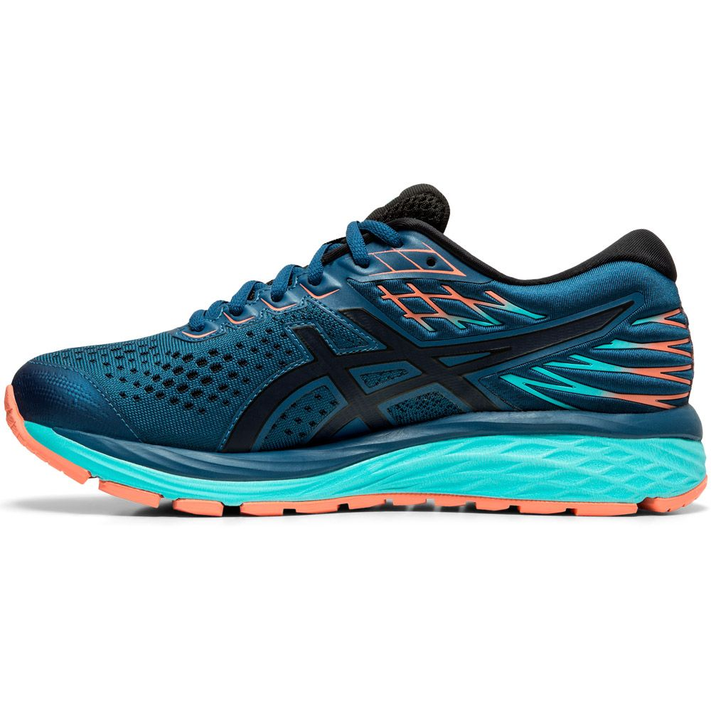 ASICS - Gel-Cumulus 21 G-TX Running Shoes Women mako blue ...