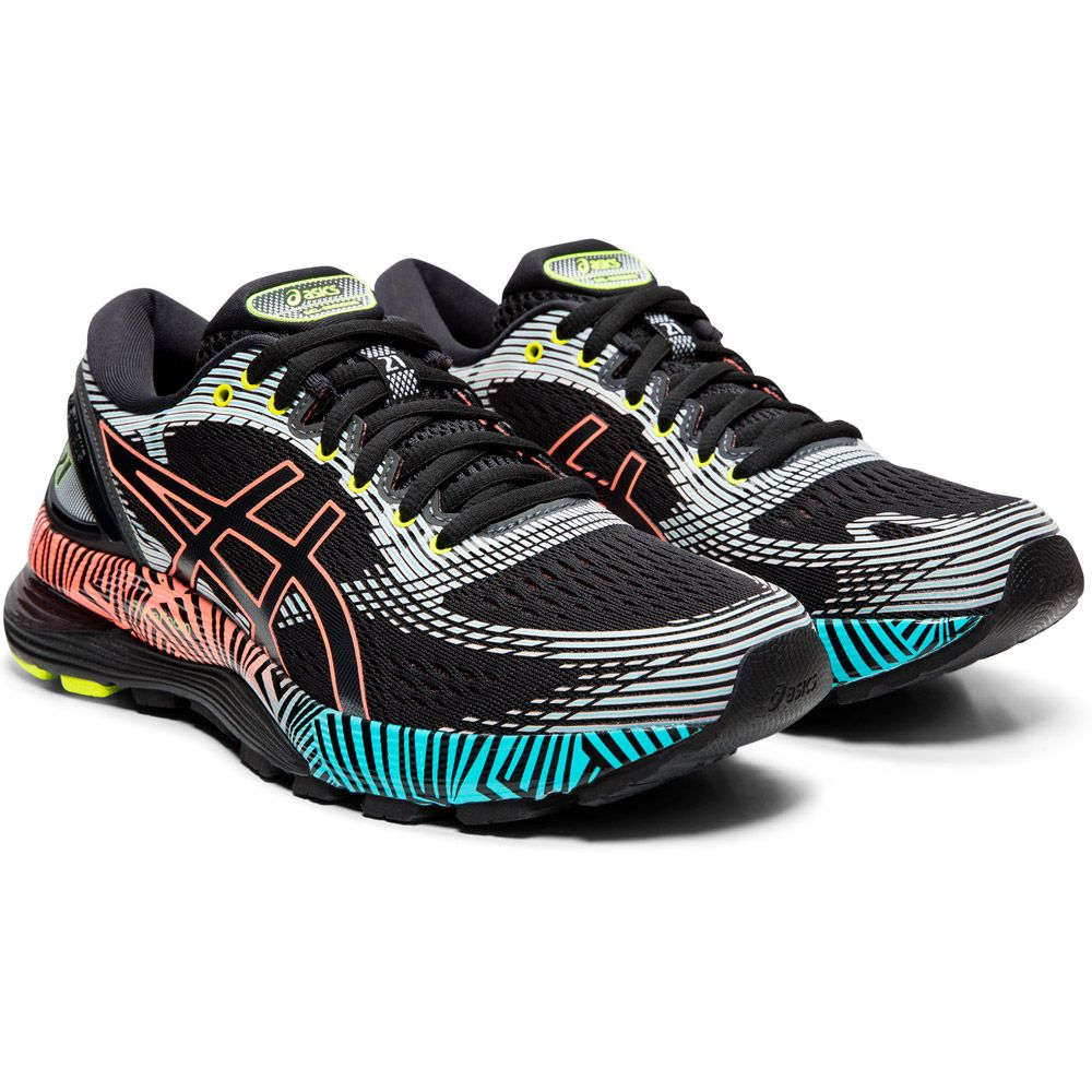 ASICS - Gel-Nimbus 21 Lite-Show Running Shoes Women black ...