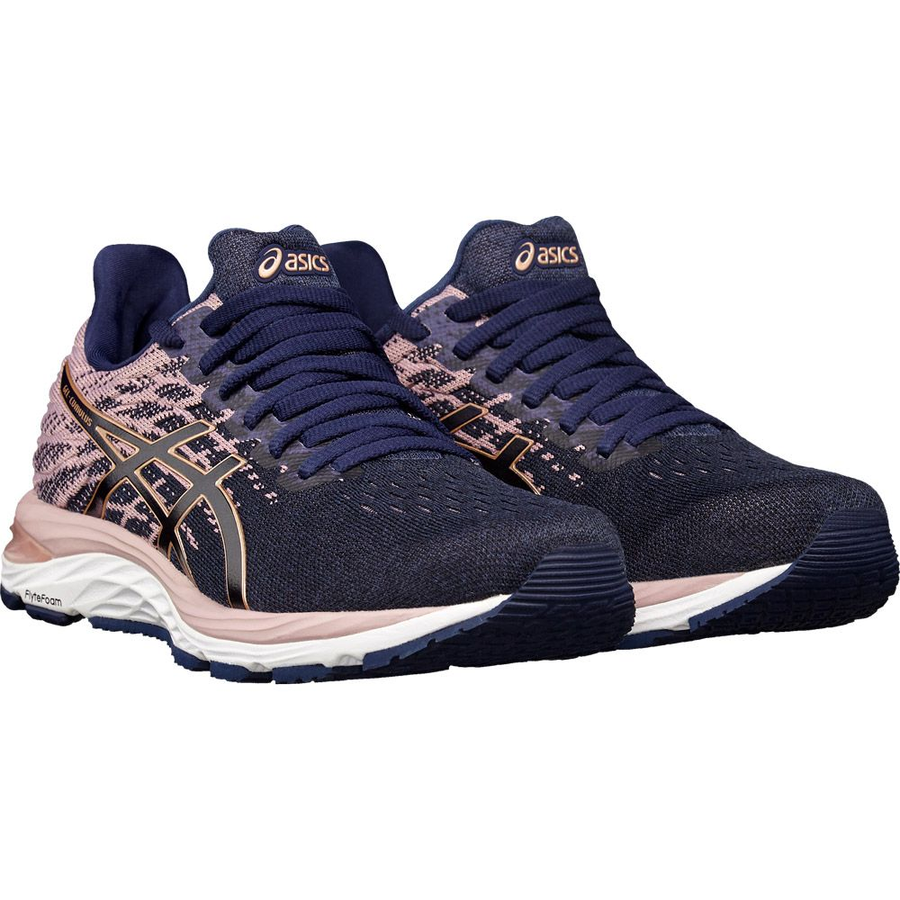 ASICS - Gel-Cumulus 21 MK Running Shoes Women peacoat rose gold