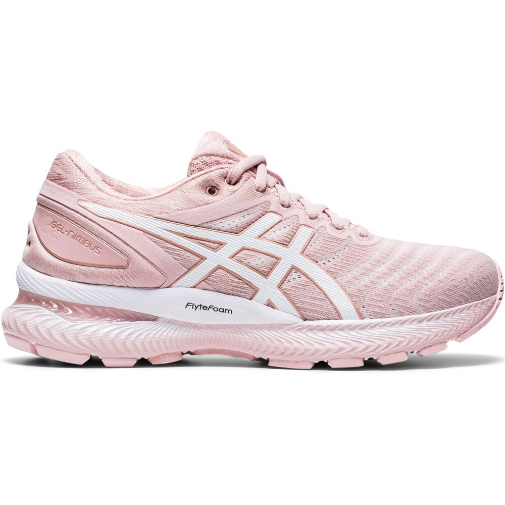 ASICS - Gel-Nimbus 22 Running Shoes Women ginger peach white