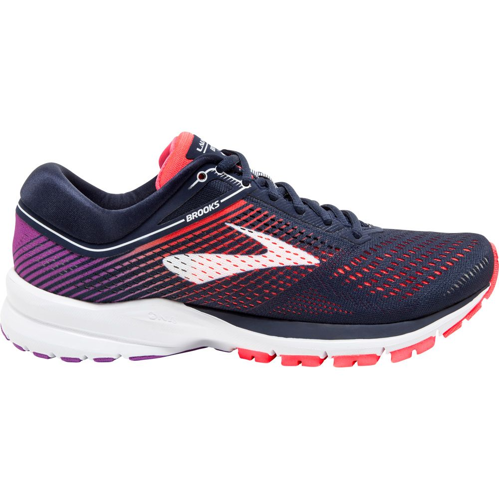 Running Shoes Women navy coral purple