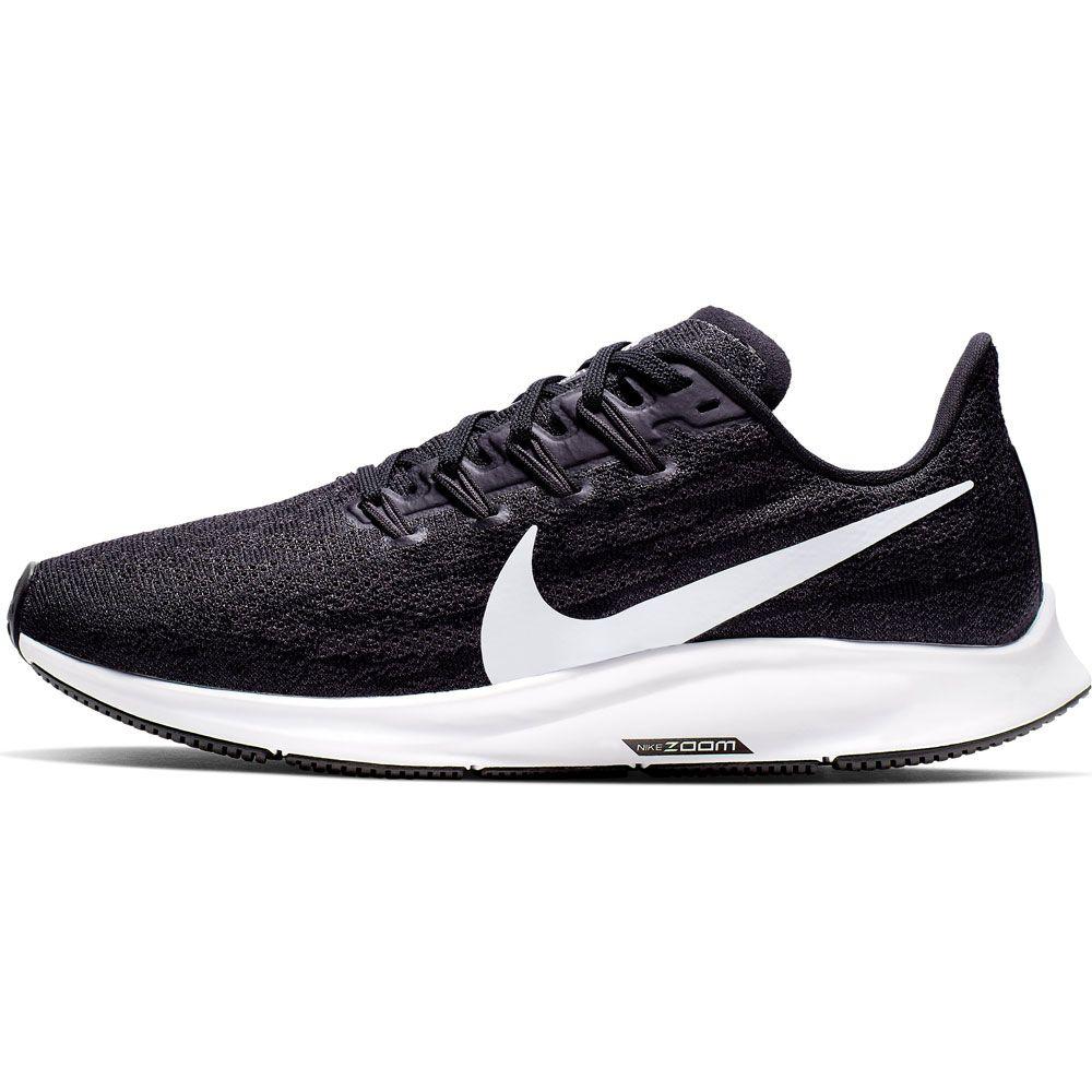 Nike Air Zoom Pegasus 36 Running Shoes Women black white thunder