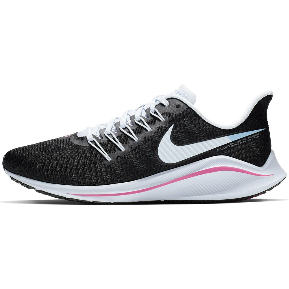 44ebca2fbe6 Air Zoom Vomero 14 Running Shoes Women black football grey pink beam hyper  pink