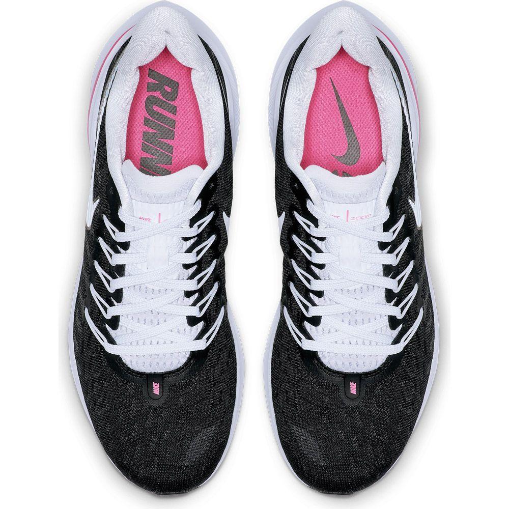 f487ba680e5 Air Zoom Vomero 14 Running Shoes Women black football grey pink beam hyper  pink. Nike