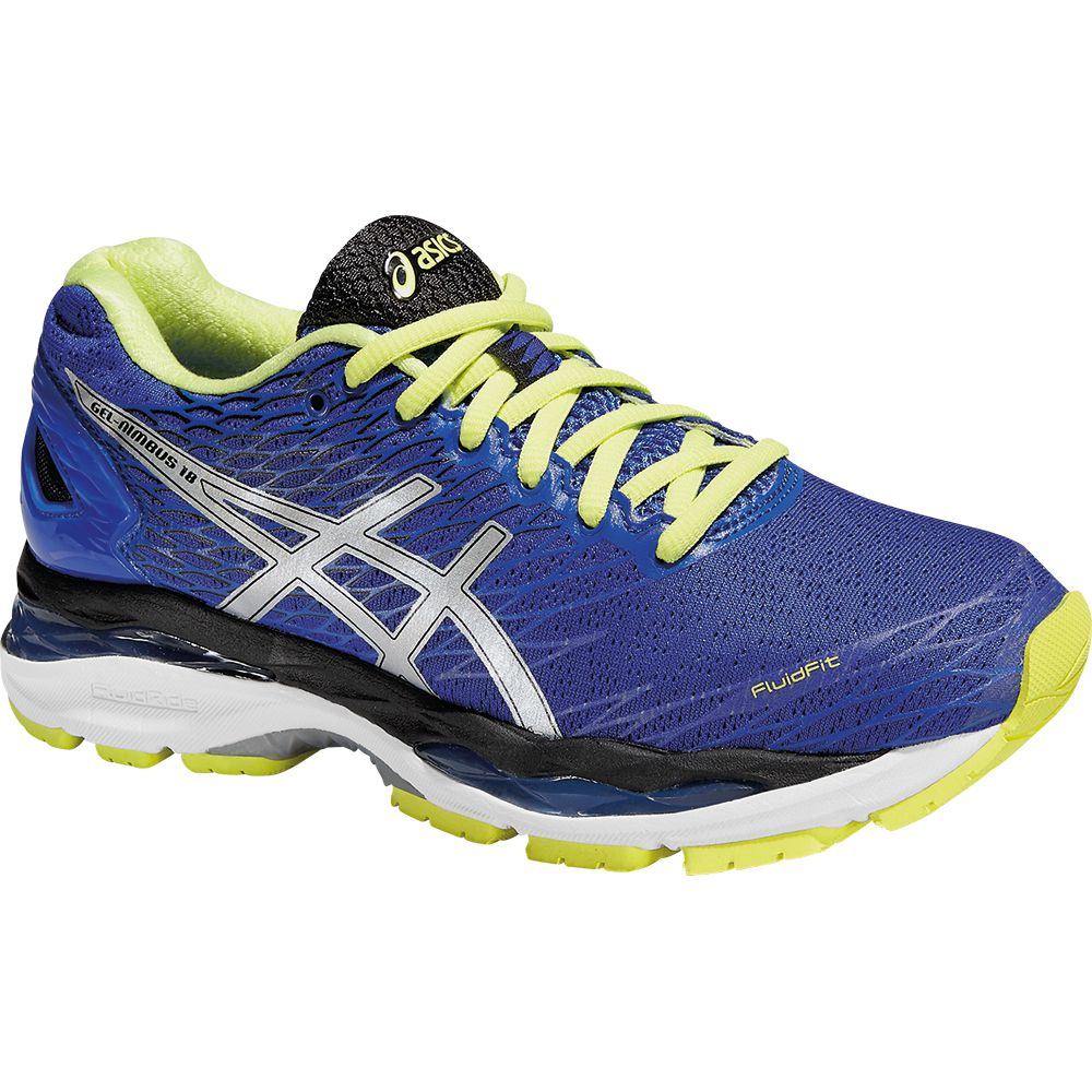 ASICS - Gel-Nimbus 18 Running Shoe Women blue purple at Sport Bittl Shop dab8e0013