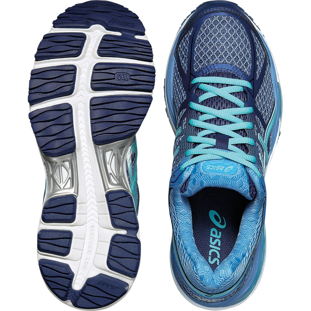 ASICS - Gel-Cumulus 17 Running Shoe Women deep cobalt at ...
