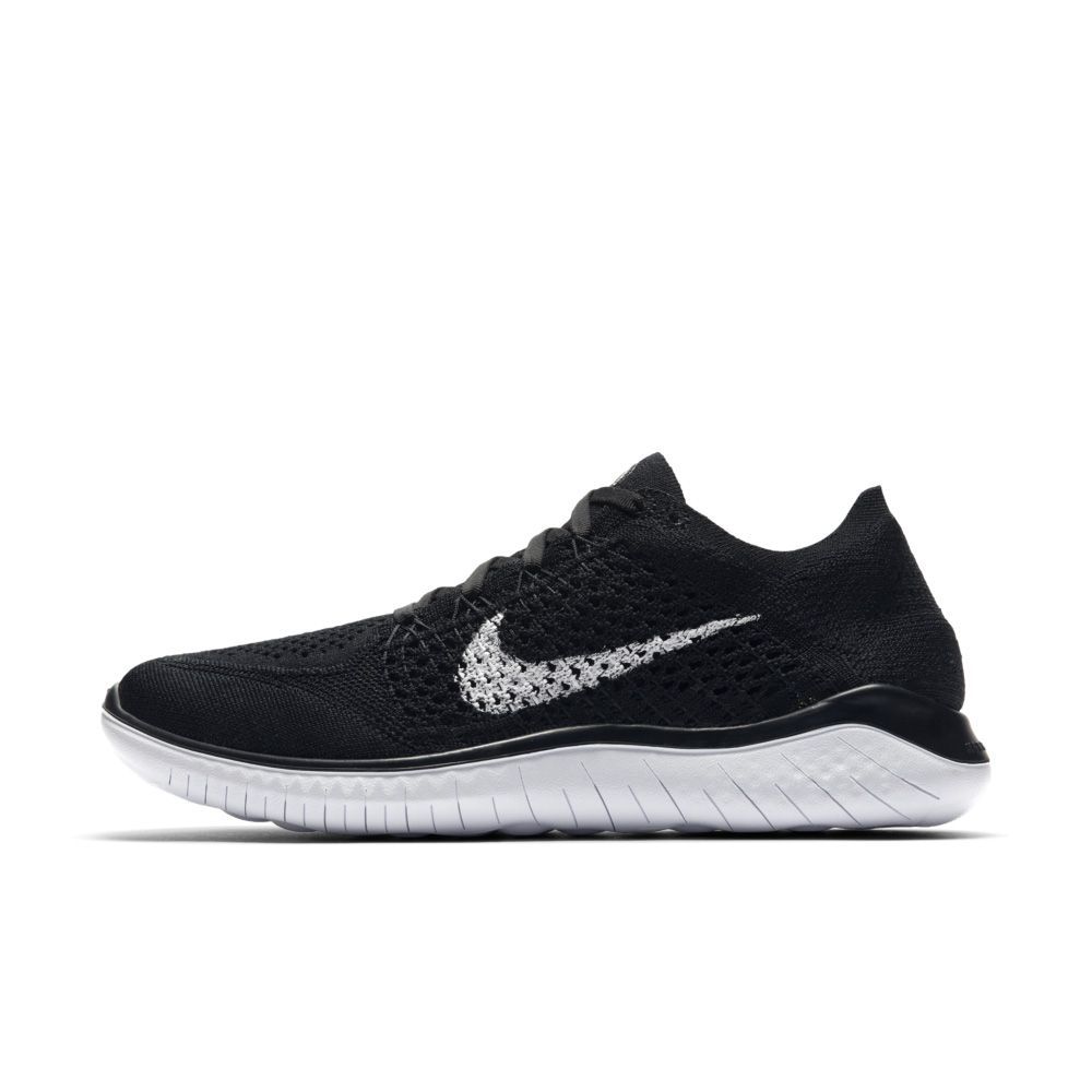 8e838c1bcf0c7 Nike - Free Run Flyknit 2018 Running Show Women black at Sport Bittl ...
