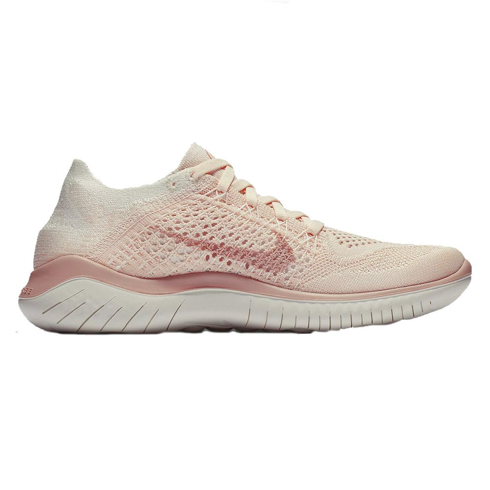 f8ceda9d18b54a Nike - Free RN Flyknit 2018 running shoes women rust pink at Sport ...