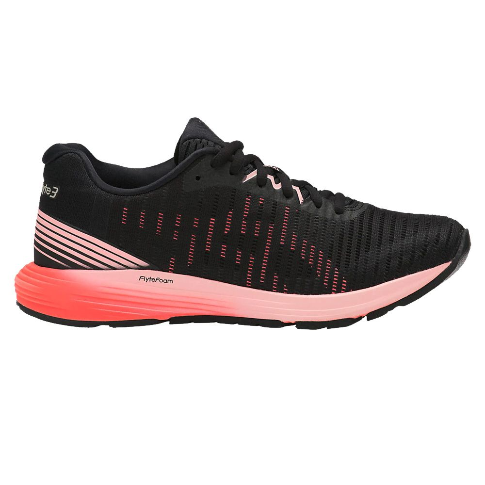 ASICS - Dynaflyte 3 W running shoes women black flash coral ...