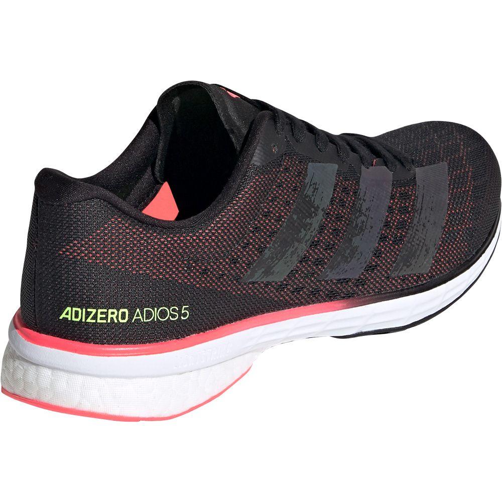 adidas Adizero Adios 5 Running Shoes Women core black core black signal pink