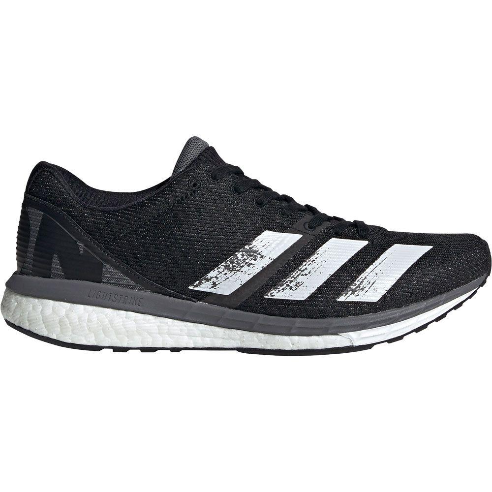 adidas Adizero Boston 8 Laufschuhe Damen core black footwear white grey five