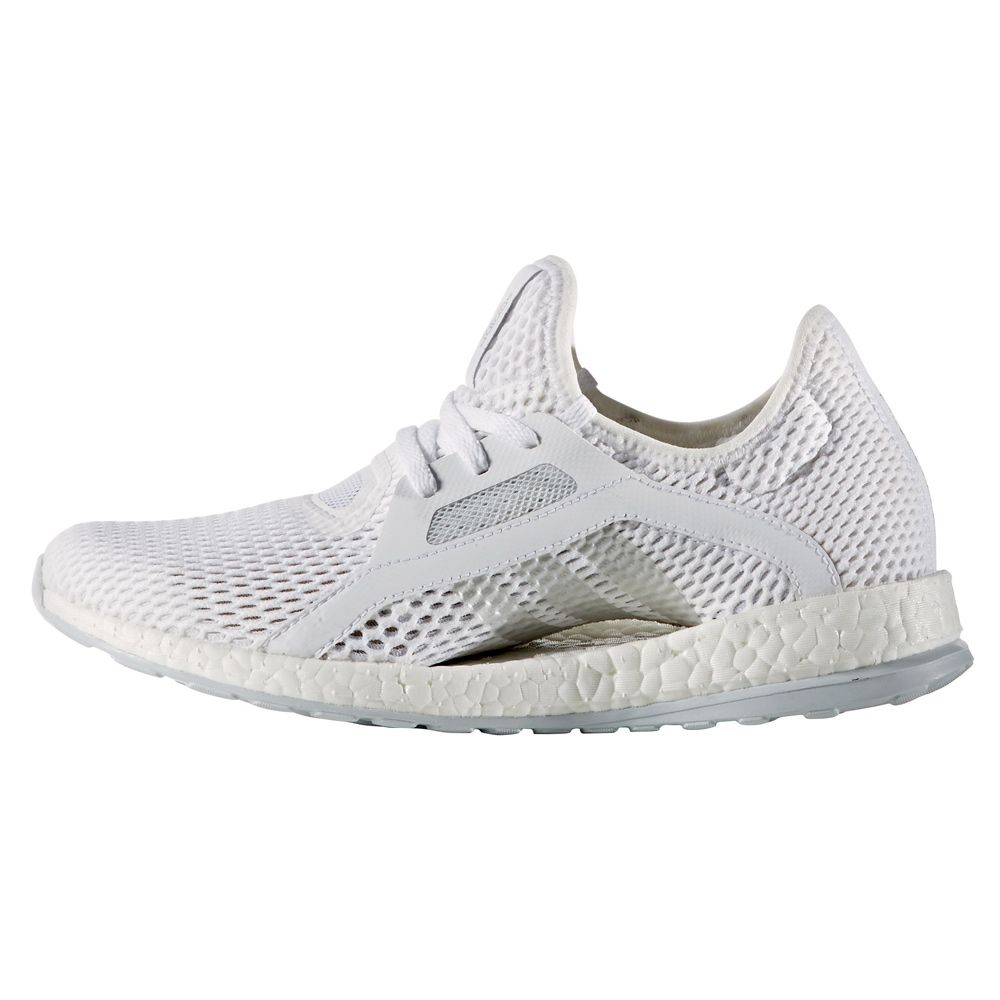 huge selection of 7af8b 3975e Pure Boost X Laufschuhe Damen white