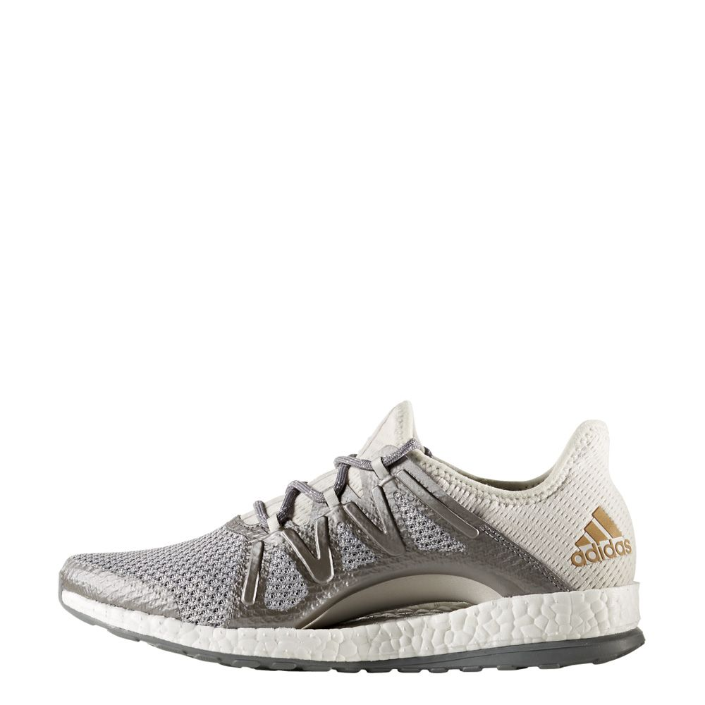 2018 Adidas Pureboost Running Shoes Men WhiteGrey Outlet