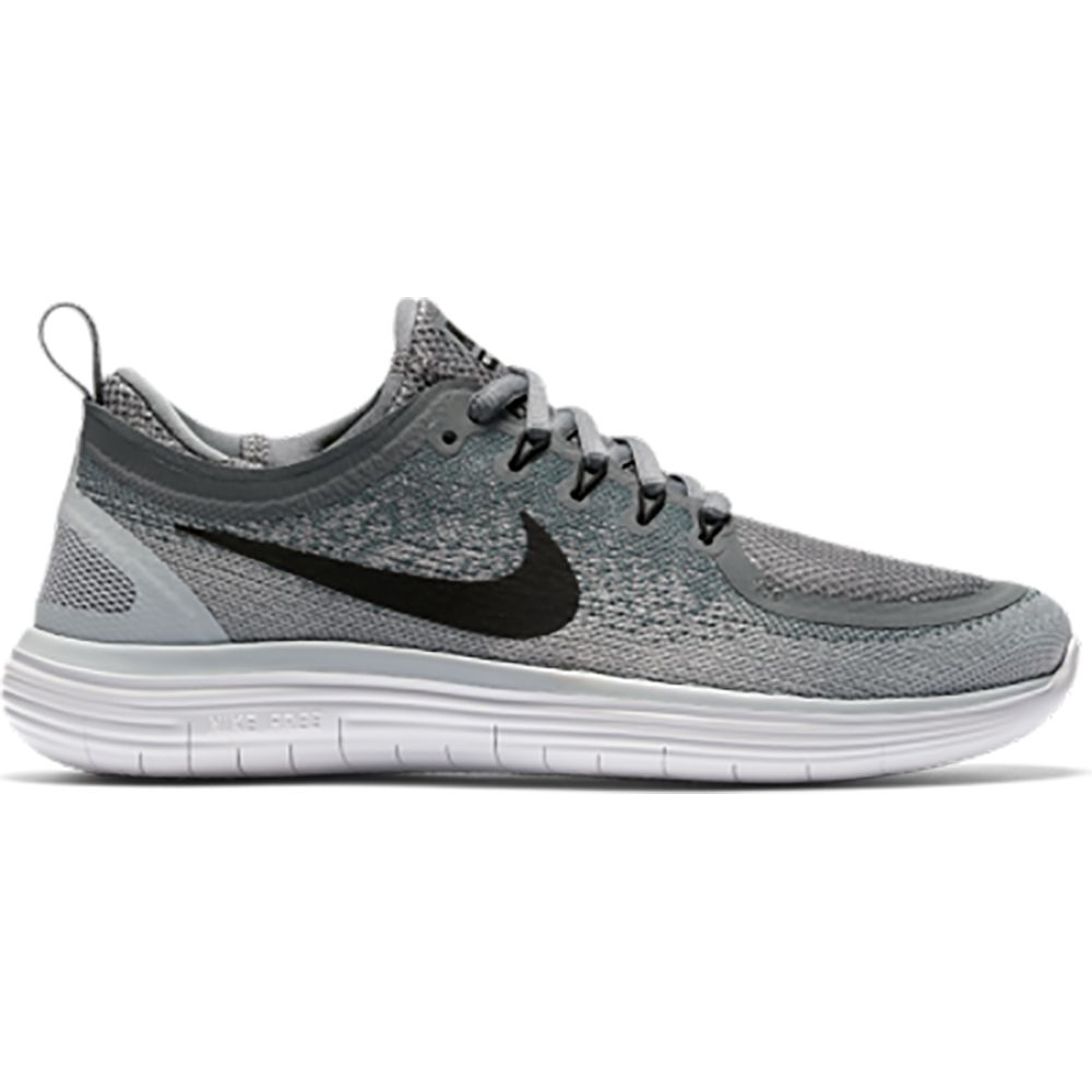 07c64a4cab8 Nike Free Run Distance 2 Running Shoe Women cool grey wolf grey stealth  black