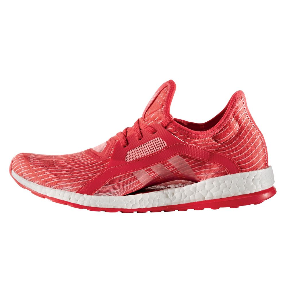 adidas Pure Boost X running women ray red at Sport Bittl Shop