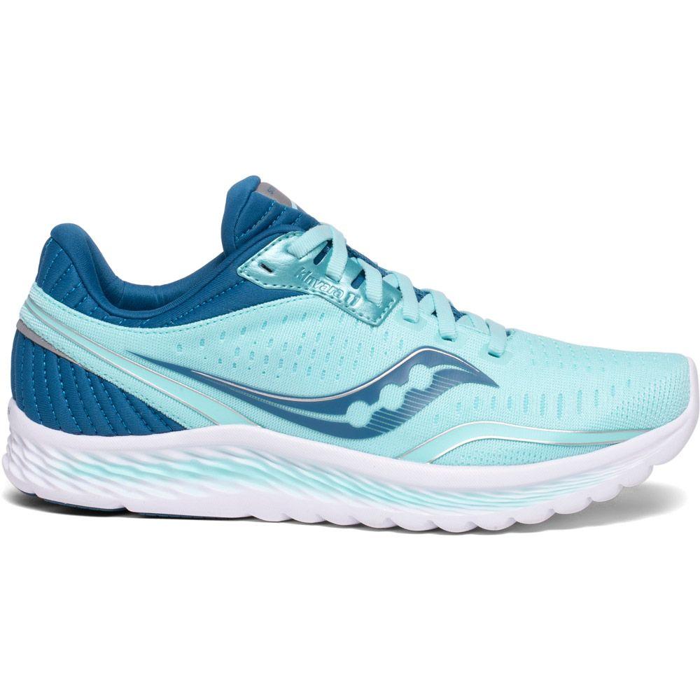 Saucony Kinvara 11 Running Shoes Women aqua blue