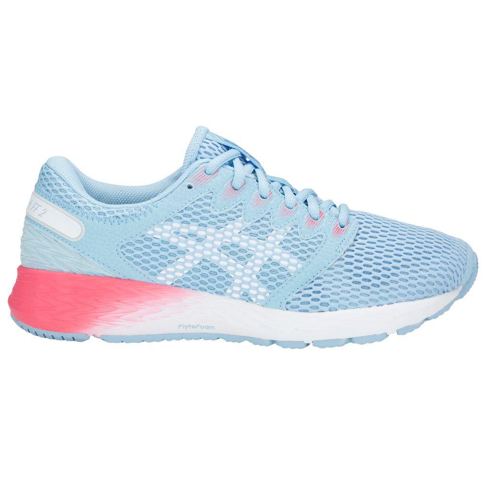 e4ab32df57 ASICS - RoadHawk FF 2 Running Shoes Women skylight white at Sport ...