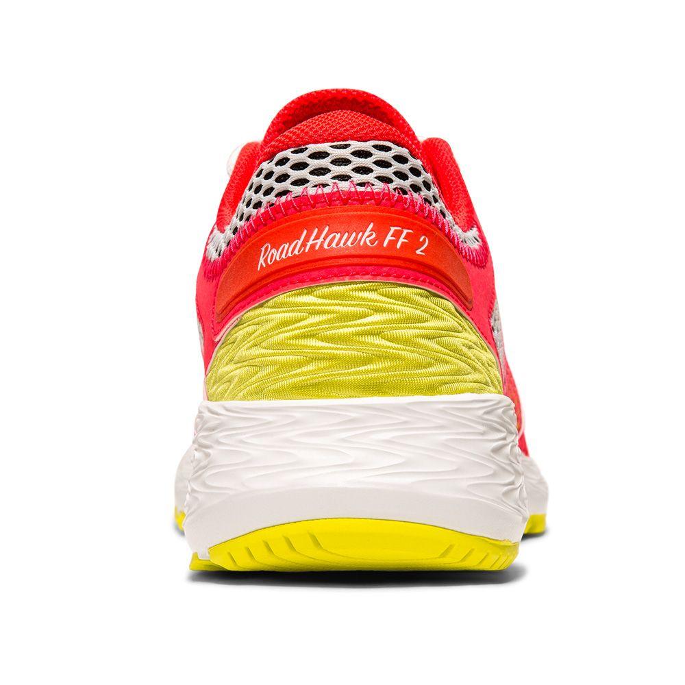 ASICS RoadHawk FF 2 Shine Running Shoes Women laser pink sour yuzu