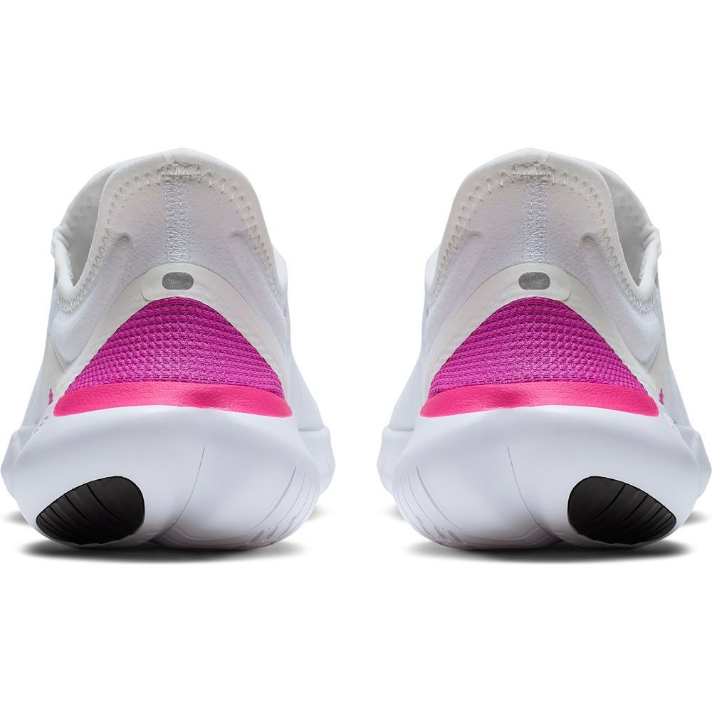 Nike Free RN 5.0 Laufschuh Damen white laser fuchsia