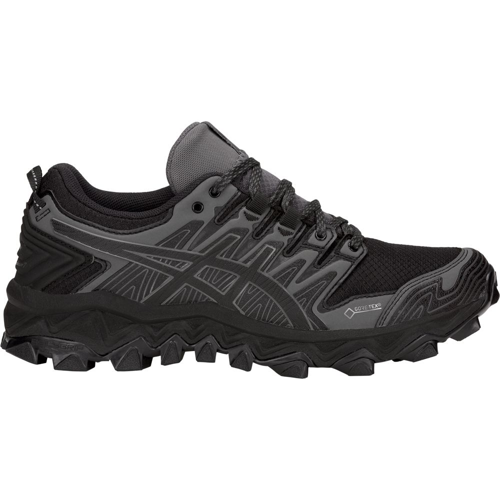 b372058e730 ASICS - GEL-FujiTrabuco 7 G-TX Trail Running Shoes Women black dark ...