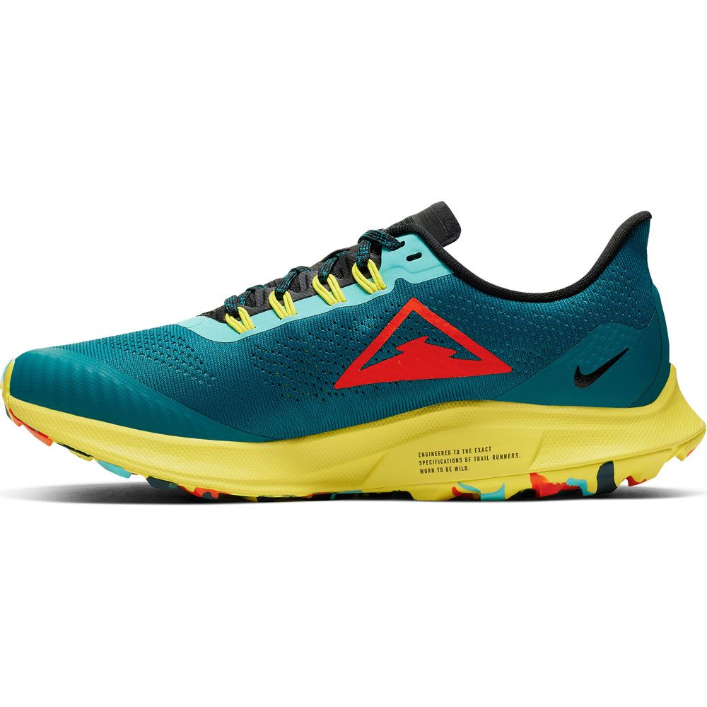 Air Running black bright Pegasus Zoom crimson 36 Schuhe teal geode chrome yellow Nike Trail Damen nwOPk80