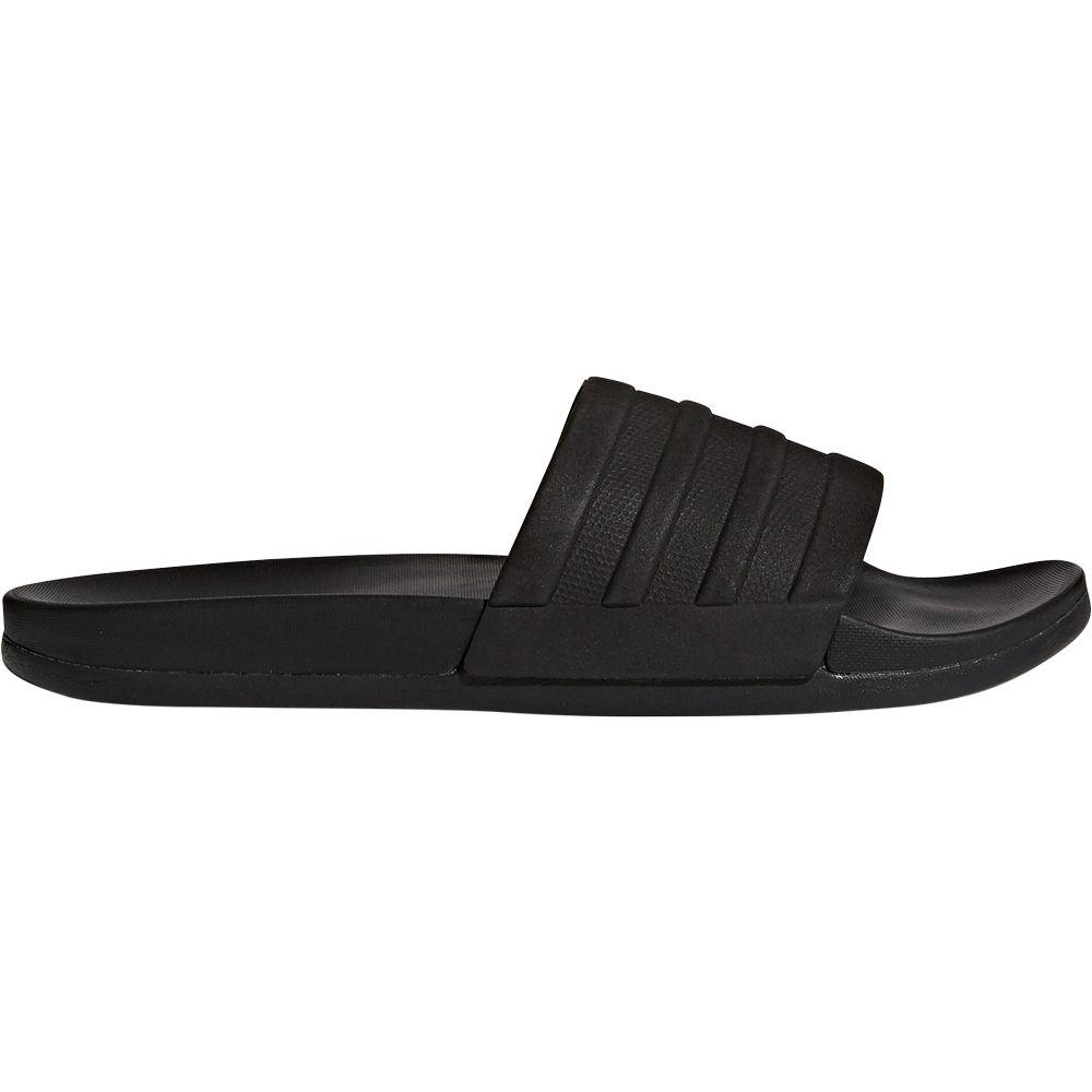 adidas adilette Cloudfoam Plus Mono Slipper Herren core black