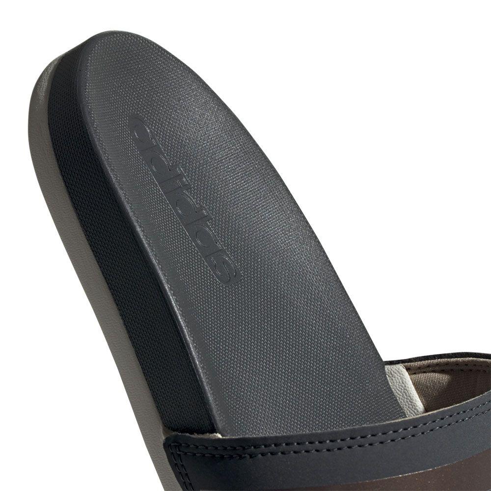 f90bb69b08fb adidas - Adilette Comfort Slides Women grey six copper met raw white ...