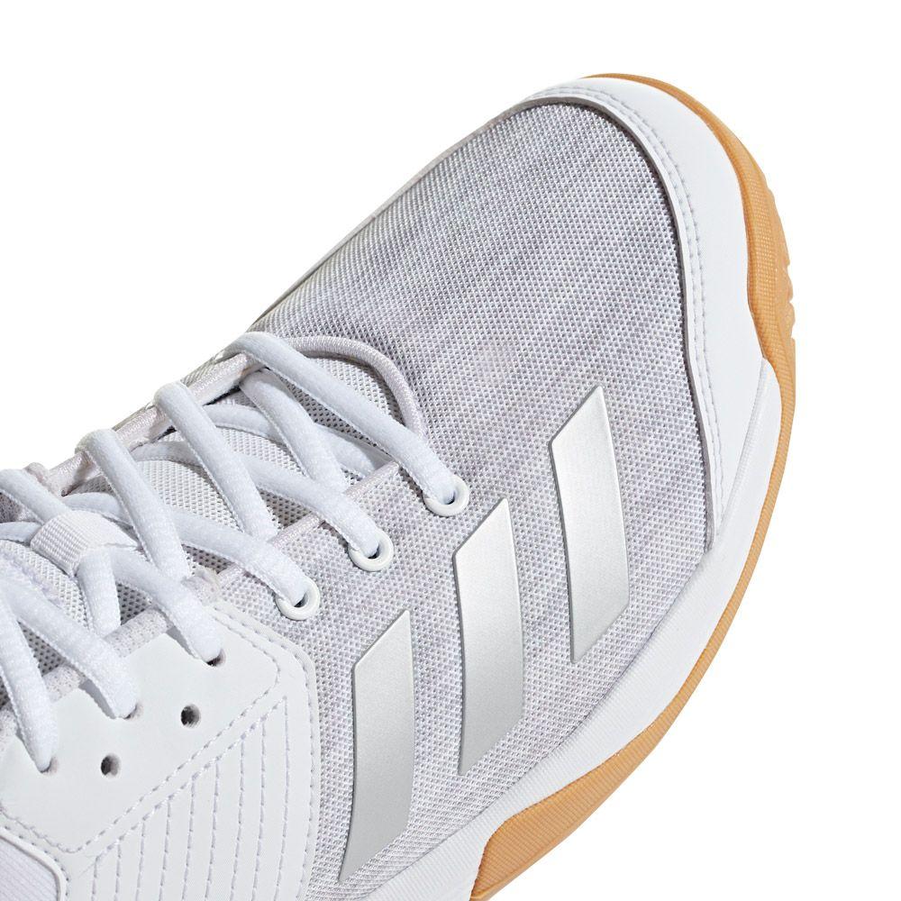 adidas Ligra 6 Hallenschuhe Damen footwear white silver metallic grey two