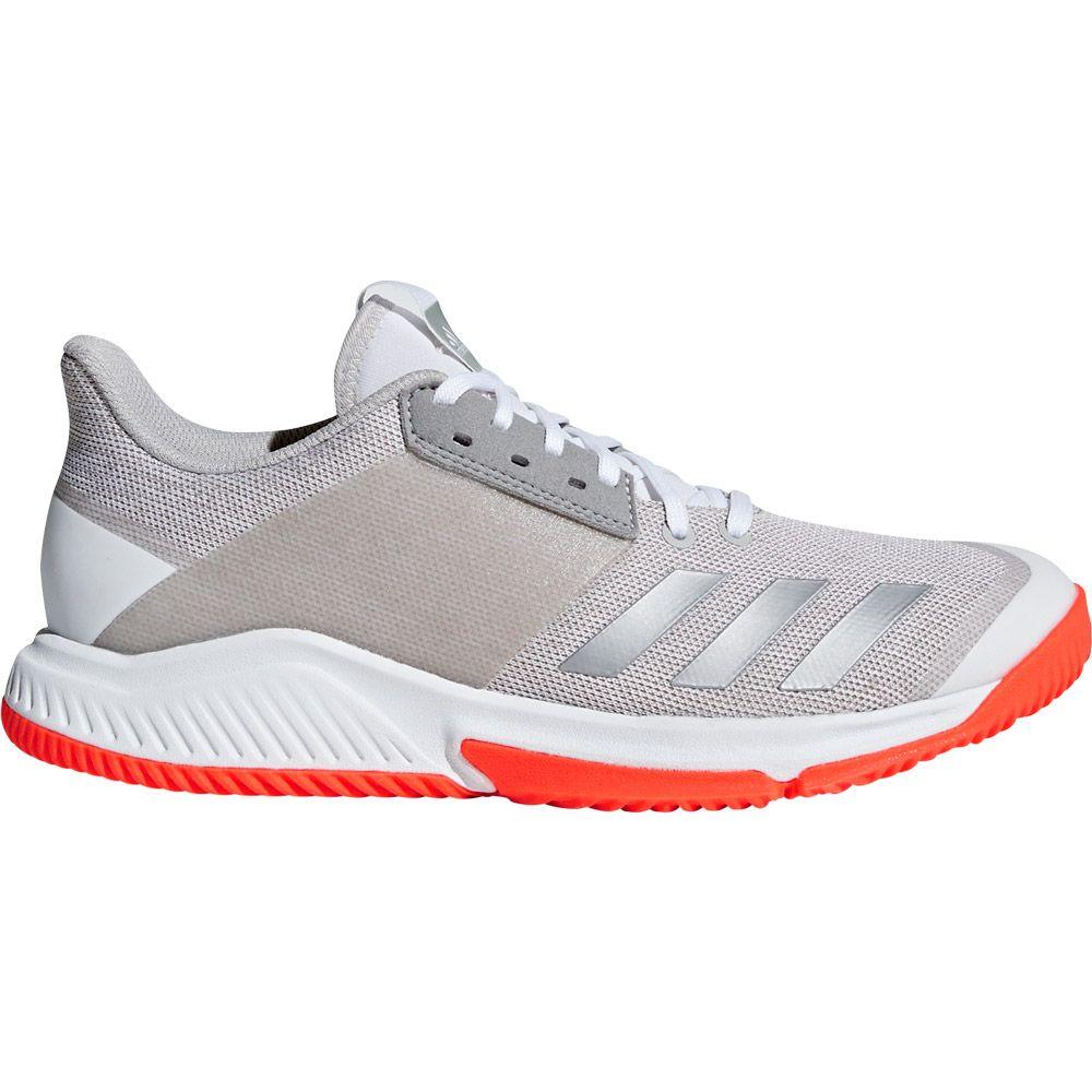 Crazyflight Team Volleyballschuhe Damen footwear white silver met grey two f65540d8f1