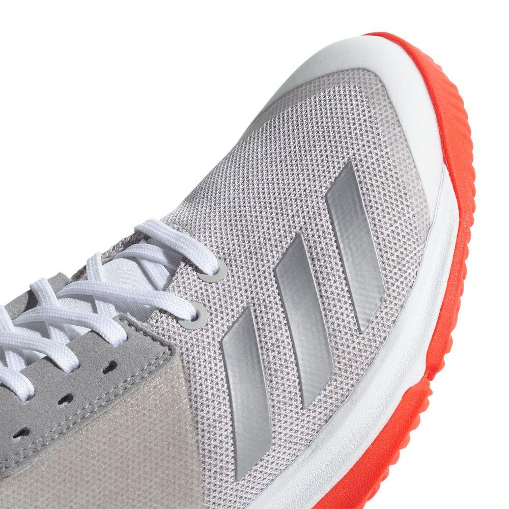 adidas Crazyflight Team Volleyballschuhe Damen footwear white silver met grey two