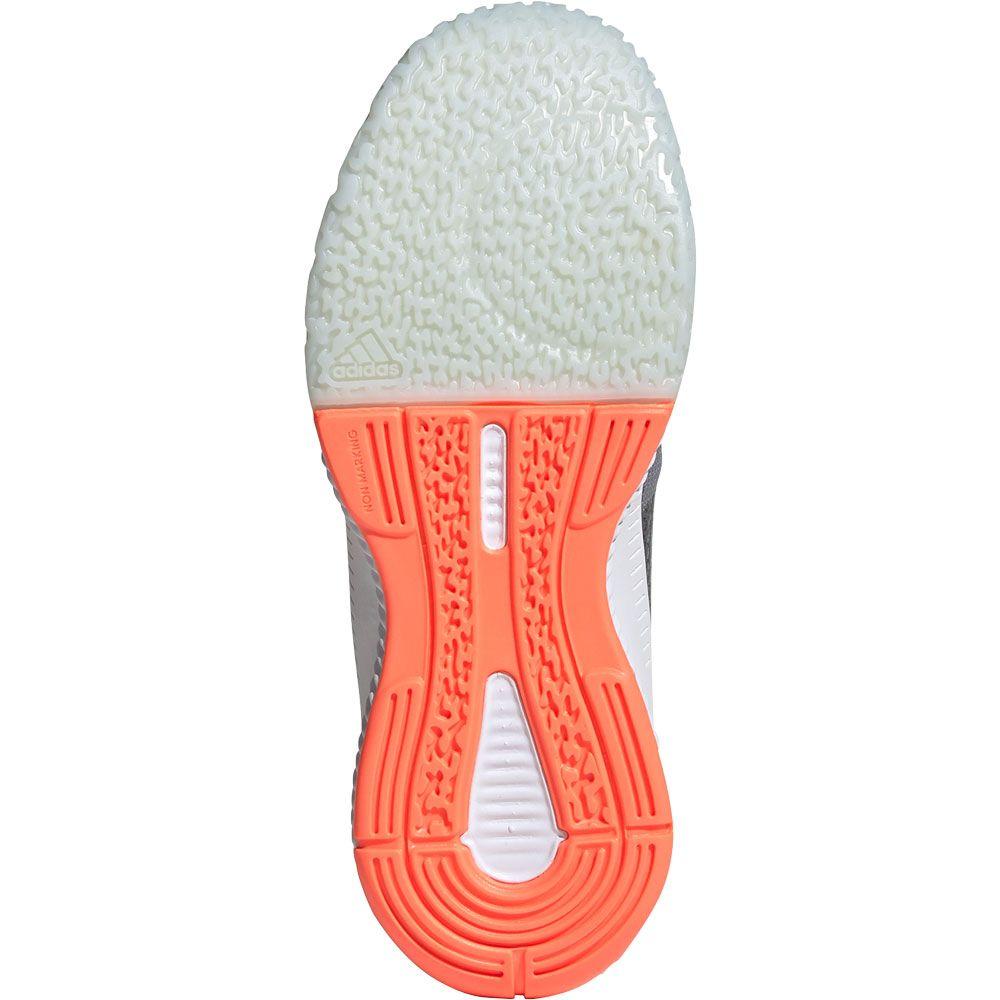 adidas Crazyflight Bounce 3 Volleyballschuhe Damen grey three footwear white signal