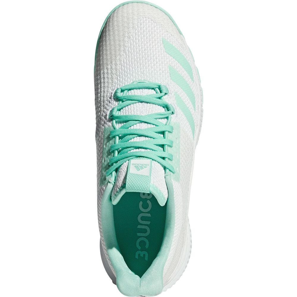 b6dc1a8be67ce Crazyflight Bounce 2.0 Volleyball Shoes Women footwear white clear mint