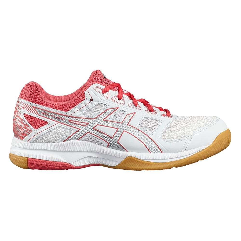 ASICS GEL Flare 6W shoes women white silver at Sport Bittl