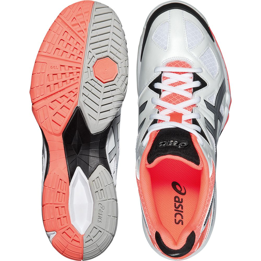 ASICS - Gel-Tactic Volleyball Shoe Women white coral at ...