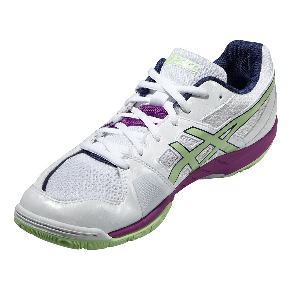 ASICS - Gel-Blade 5 Volleyball Shoe Women white pistachio at ...