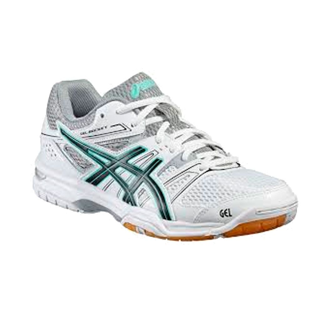 ASICS - GEL-Rocket 7 women white black at Sport Bittl Shop