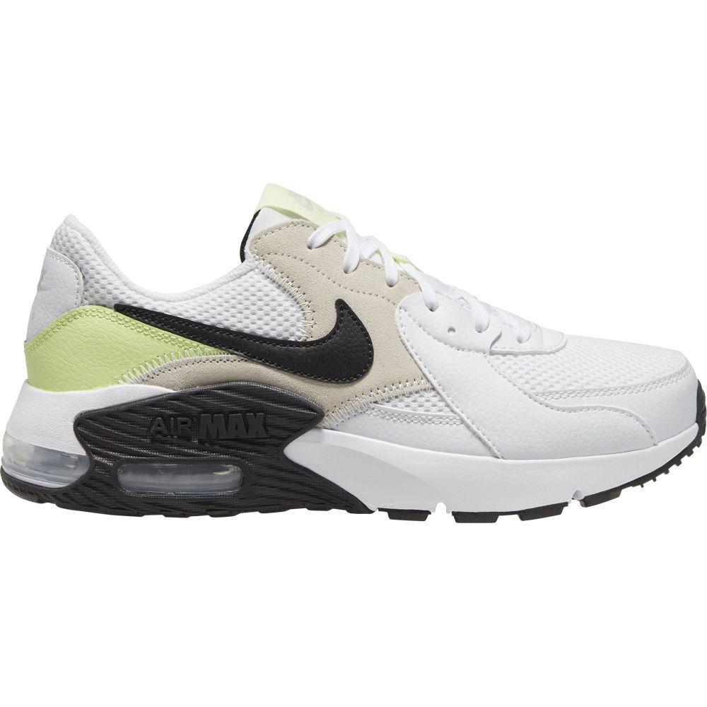 calendario Ventilar radioactividad  Nike - Air Max Excee Indoor Shoes Women white black barely volt light ore  at Sport Bittl Shop