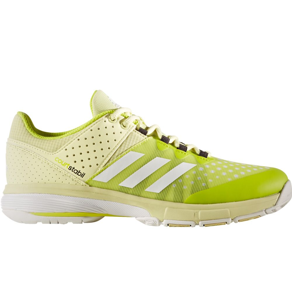 adidas - Court Stabil shoes women ice yellow at Sport Bittl Shop