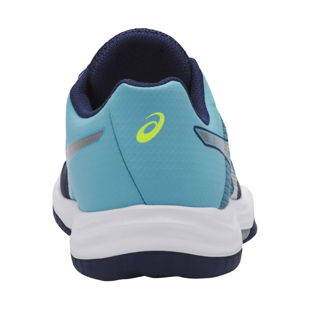 f6605c5331 ASICS - Gel-Tactic Indoor Shoes Women indigo blue silver at Sport ...