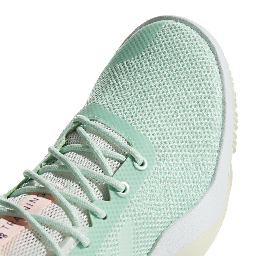 adidas CrazyTrain LT Trainingsschuhe Damen clear mint cloud white clear orange