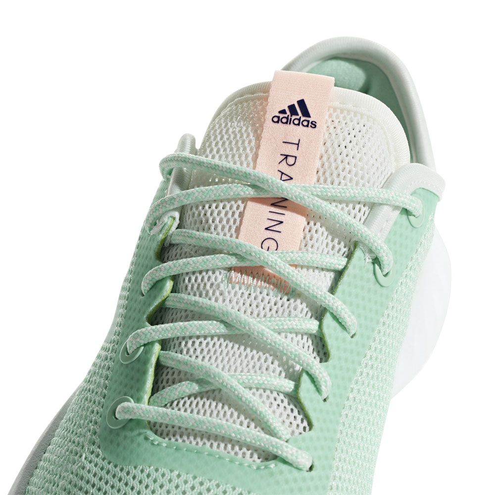 adidas CrazyTrain LT Training Shoes Women clear mint cloud white clear orange