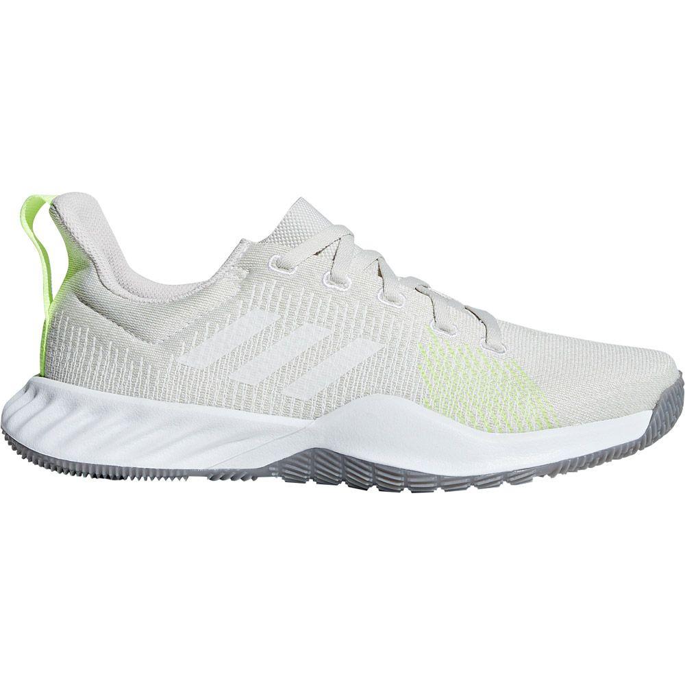 adidas Solar LT Trainer Schuhe Damen raw white footwear white hi res yellow
