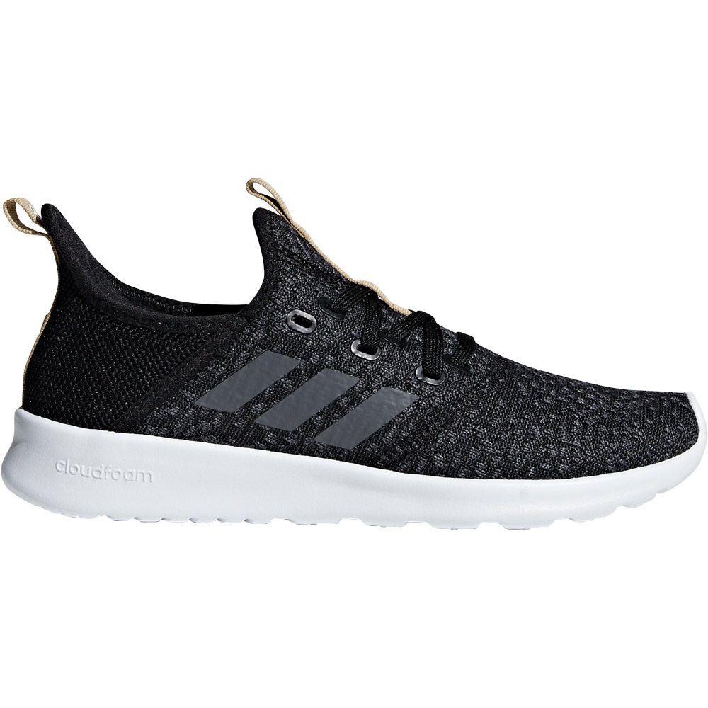 adidas - Cloudfoam Pure Shoes Women core black grey five at ...