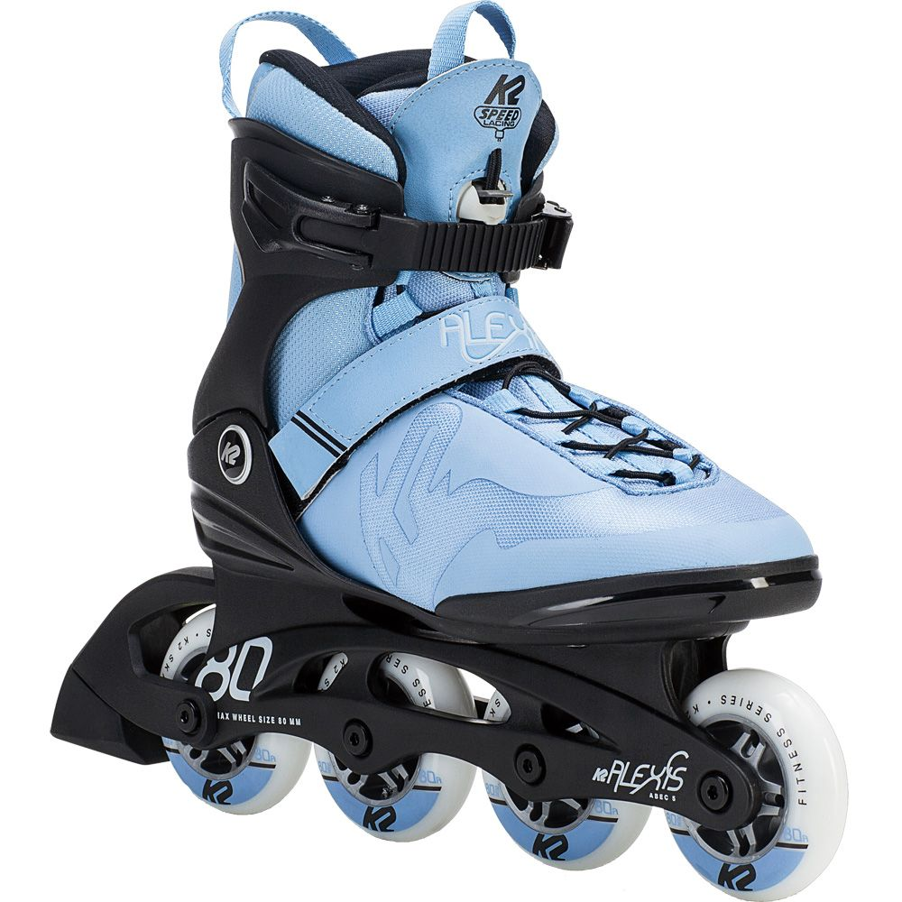 Alexis 80 Pro Inline Skate Women black light blue