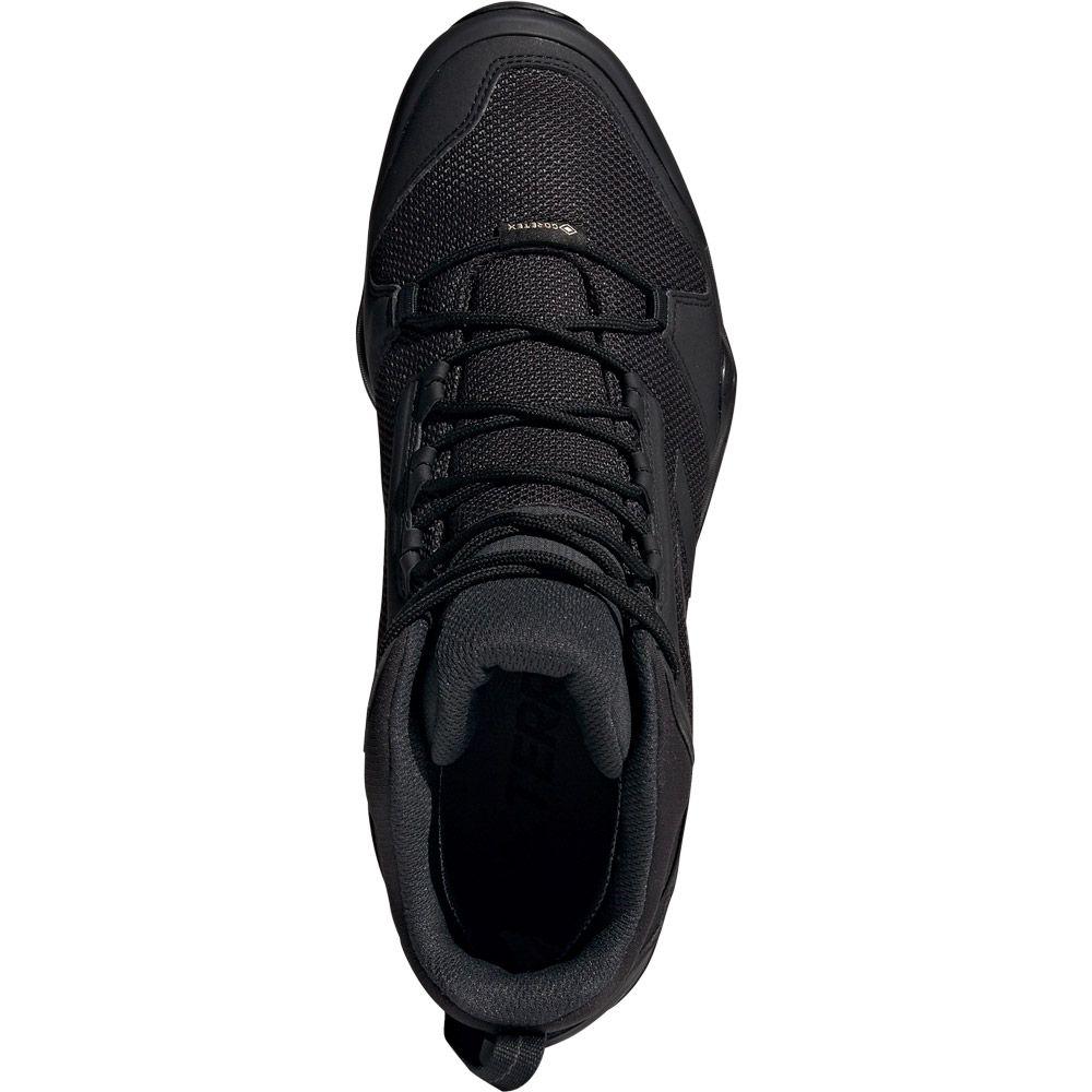 16321db923455 adidas - Terrex AX3 Mid GTX Hiking Shoes Men core black carbon at ...