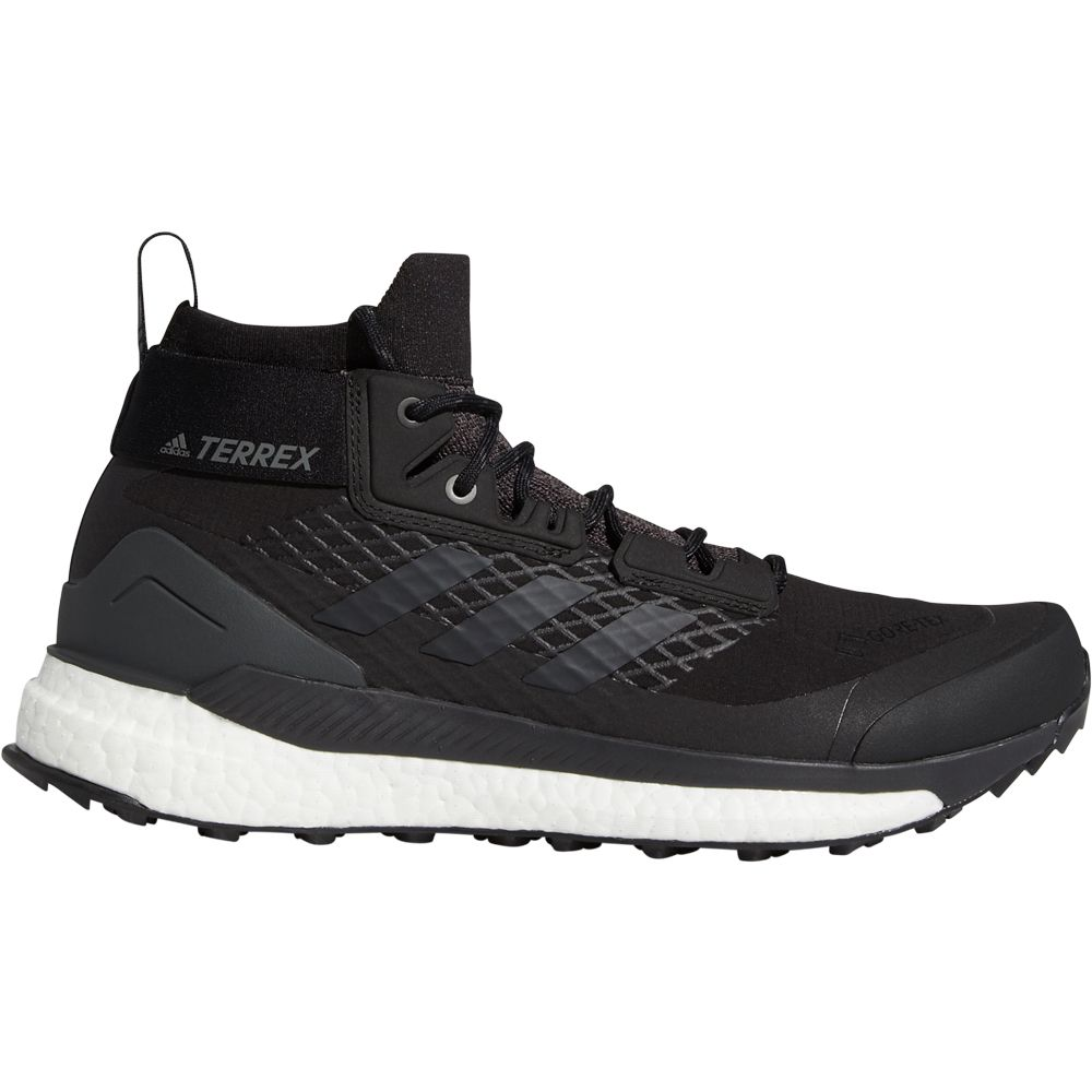 adidas Terrex Free Hiker GTX Shoes Men core black grey three active orange