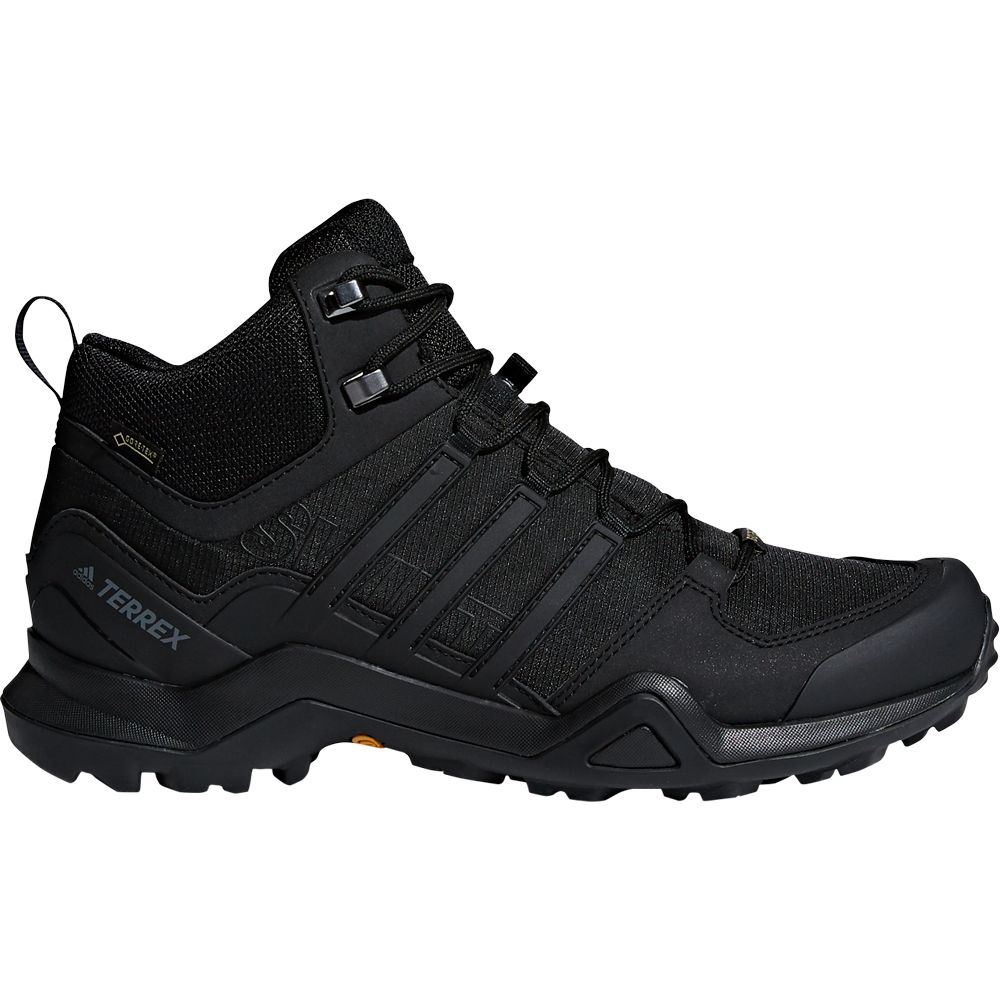 adidas Terrex Swift R2 Mid GTX Hiking Shoes Men core black