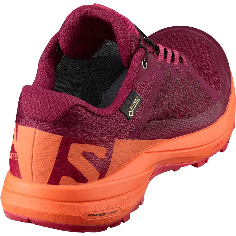 Salomon XA Elevate GTX Running Shoe Women's Beet RedNasturtiomVirtual Pink 5