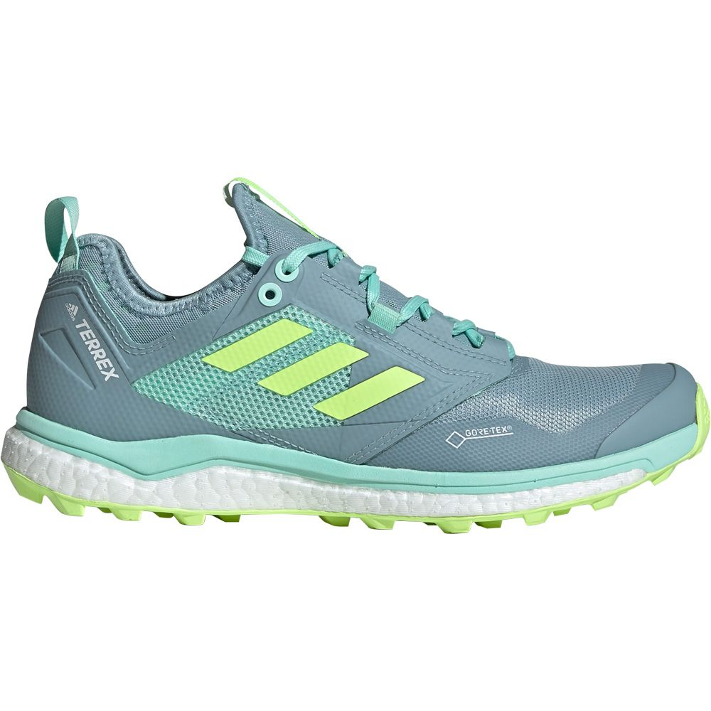 pretty cool 100% genuine new appearance adidas - Terrex Agravic XT GTX Trailrunning-Schuhe Damen ash grey hi-res  yellow clear mint