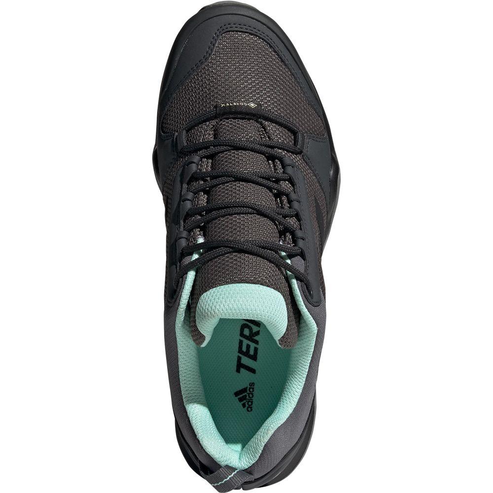 adidas - Terrex AX3 GTX Hiking Shoes Women grey five core ...